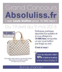 photo concours facebook absoluliss